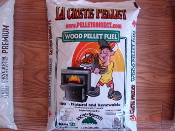 LaCrete Wood Pellets sold and priced on 1.2 ton Pallets