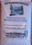 Packsaddle 100% Douglas Fir Pellets from $339 ton
