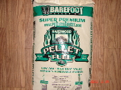 Barefoot Super Premium Hardwood King Pellet from $269.90 ton
