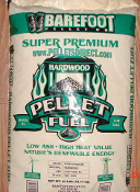 Barefoot Hardwood Pellet by the bag 10+ Minimum $6.99 each